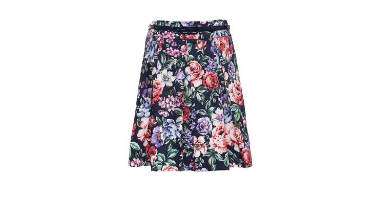 Flora Garden Skirt Midnight | Skirts | Review Australia