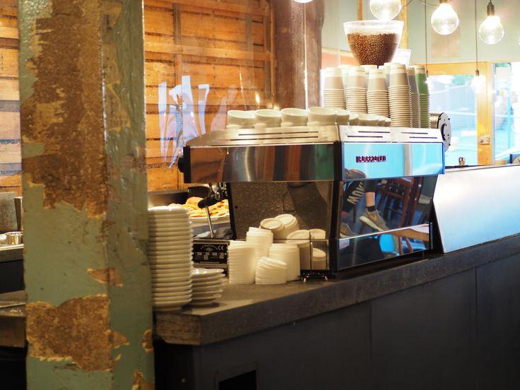 Pilgrim Coffee cafe hobart tasmania la marzocco