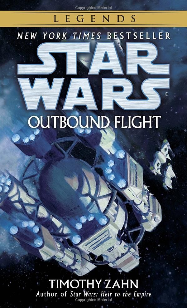Outbound Flight - - The Best Star Wars Books You Ever Read #books #starwars #comic @ https://starwargift.com/best-star-wars-books/