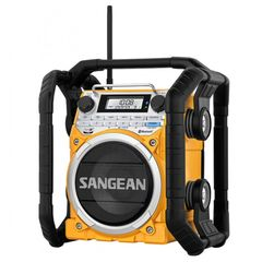 Sangean U4 Utility / Worksite Radio | Water, Dust & Shock Resistant | The Listening Post Christchurch and Wellington