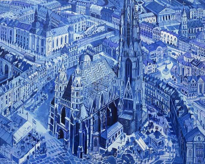 Vienna by Edward Dwurnik