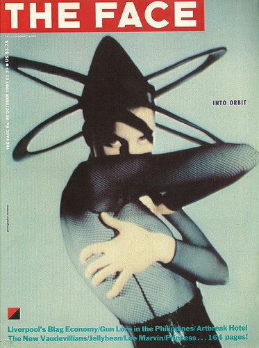 """cMag419 - The Face Magazine cover """"Into Orbit"""", Photo by Jean Baptiste Mondino / Issue 90 / October 1987"""