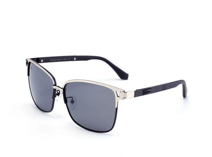 2016 men Polarized Sunglasses,male driver vintage/retro sunglasses for men original brand designer male with logo sunglasses #RetroMens