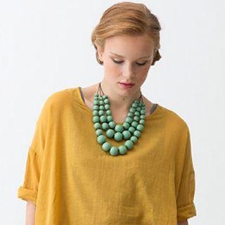 Wooden Layer Necklace - Elk Accessories