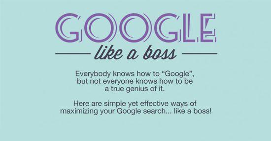 Iedereen kan Googlen, maar kan ook iedereen efficiënt Googlen? In onderstaande infographic een paar handige trucs waarmee je nog sneller datgene vindt waar je naar op zoek bent.