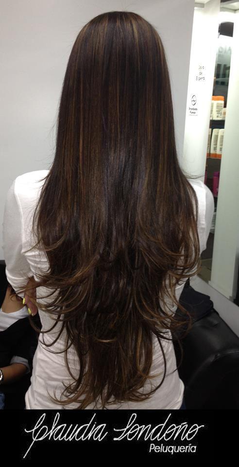 EXTENSIONES DE CABELLO El cabello largo es una de las tendencias para el 2014. Los cortes para esta temporada se basan en melenas con capas. La idea es llevar el look largo de forma liviana.  Las capas le brindan movimiento al cabello, el encapado incrementado aporta libertad dándoles al peinado la posibilidad de lucir mayor o menor volumen con peinados de puntas hacia fuera u ondas.  Cortes versátiles y prácticos.  Cambia tu look conservando tu largo!