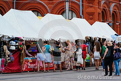 Market In Moscow - Download From Over 60 Million High Quality Stock Photos, Images, Vectors. Sign up for FREE today. Image: 86538900
