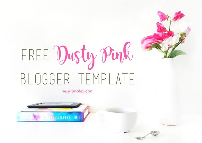 free-dusty-pink-blogger-template