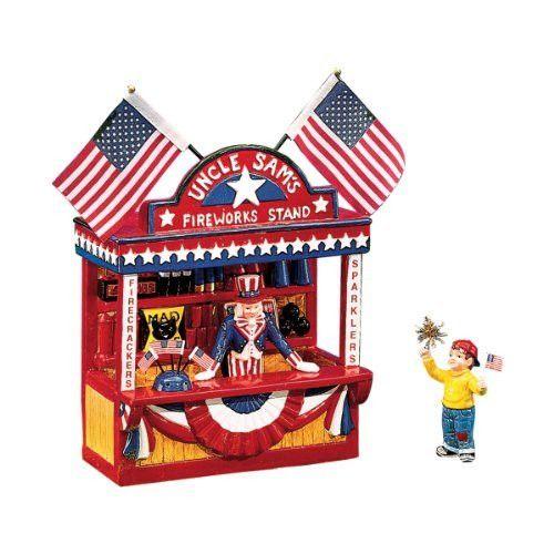 Dept 56 Uncle Sam's Fireworks Stand 56.54974