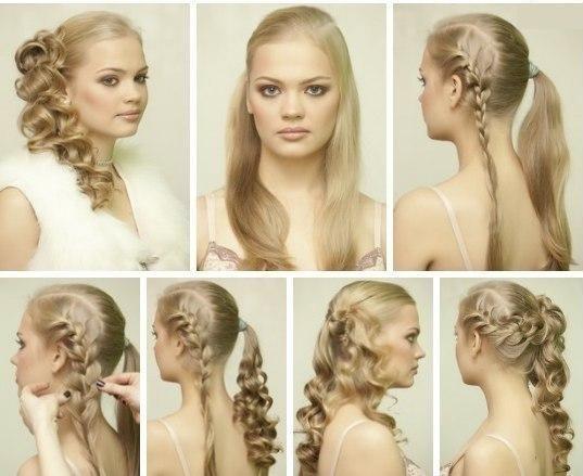 Свадебные прически на длинные волосы с челкой - Фотографии и описание!