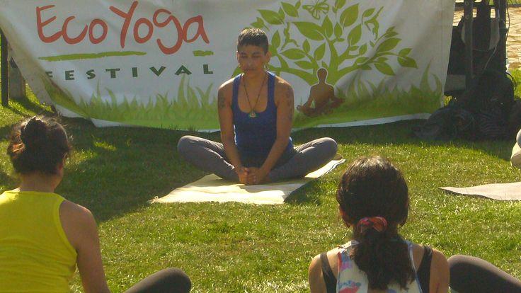 clase abierta en Eco yoga festival sábado 11 de abril, concepción, chile