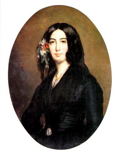 Portrait - Georges Sand  - Musee de la Vie Romantique - Paris