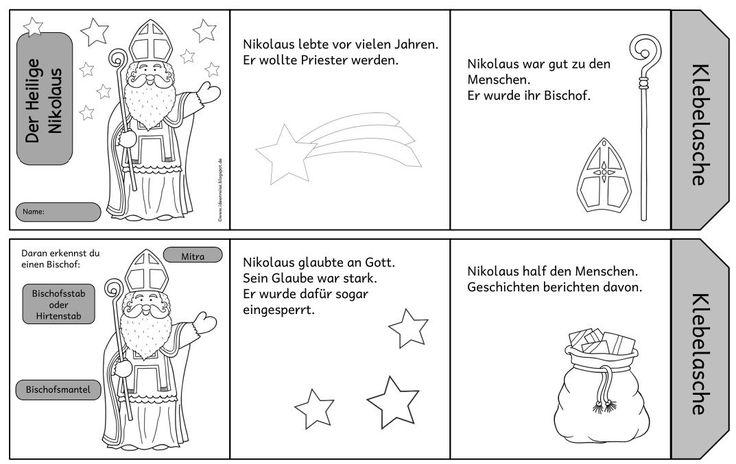 Leporello zum Heiligen Nikolaus    Bereits im letzten Jahr habe ich ein Leporello  zum Heiligen Nikolaus online gestellt.     Nun gibt es a...