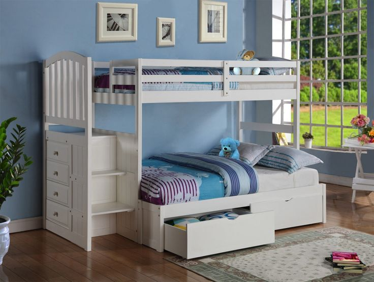 25 best ideas about bunk bed designs on pinterest white bunk beds bunk bed sets and bunk bed. Black Bedroom Furniture Sets. Home Design Ideas