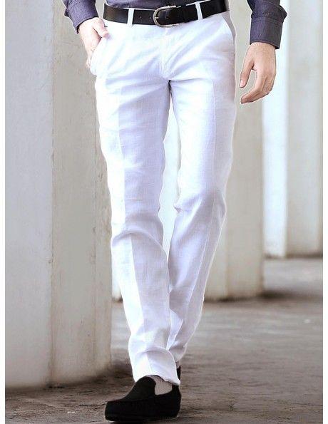 Buy Formal White Pants. http://www.bharatplaza.com/men/trousers.html