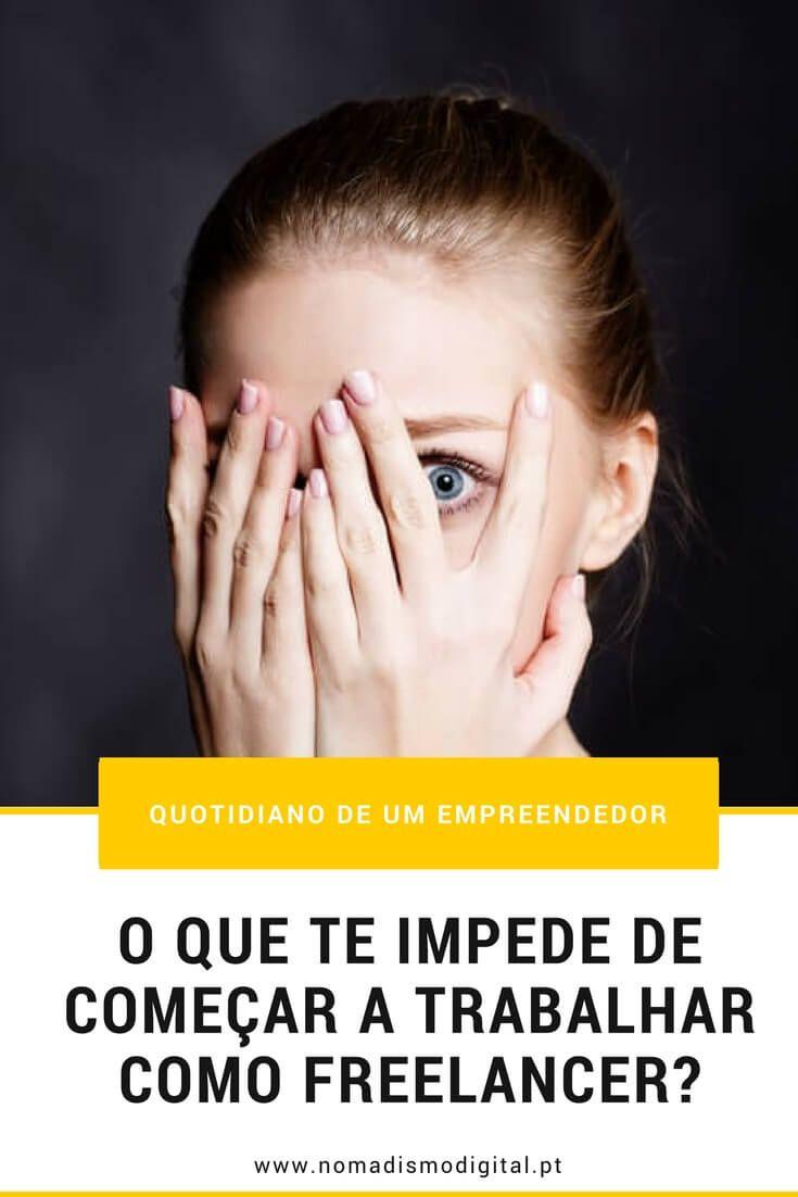 O que te impede de começar a trabalhar como freelancer? – Descodifica e resolve os teus maiores medos e hesitações! Lê o post no Nomadismo Digital Portugal via @nomadigitalpt