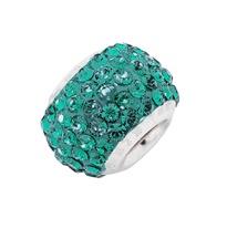 Amore & Baci 23025 green Swarovski crystal bead