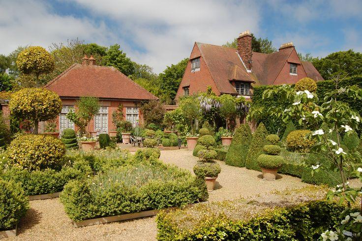 East Ruston Old Vicarage Gardens in Norfolk.