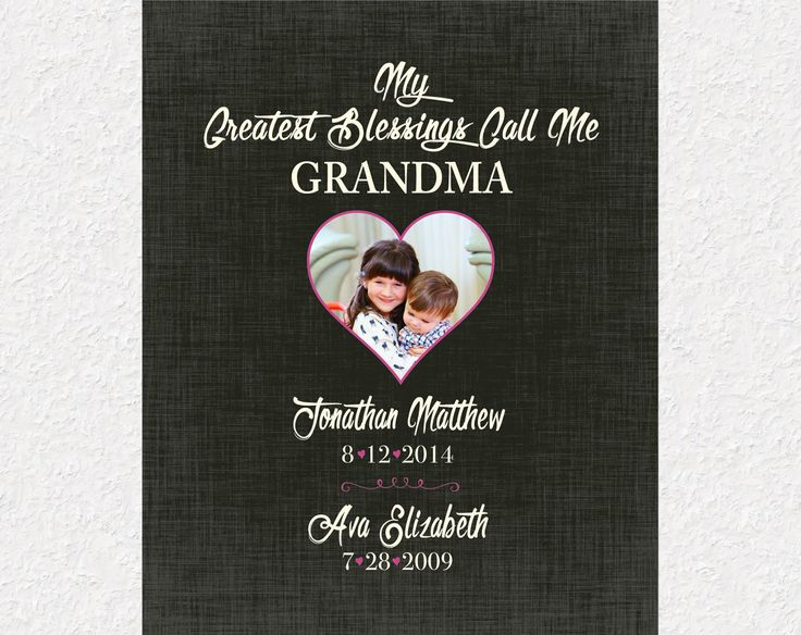 11 best Gifts for Grandparents images on Pinterest | Long distance ...