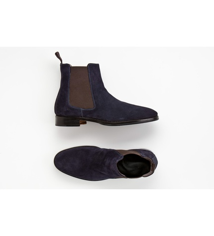 Scarosso Ankle Boot Blue