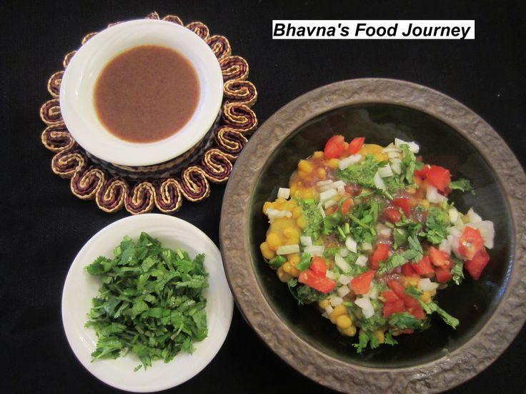 Ragda Patties - the street food of India #Glutenfree #Vegetarian #Indian