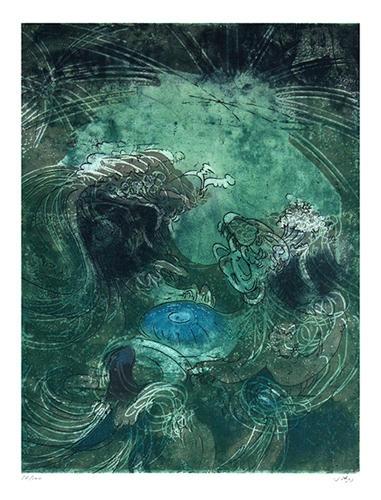 Roberto Sebastian Matta : Green Ocean