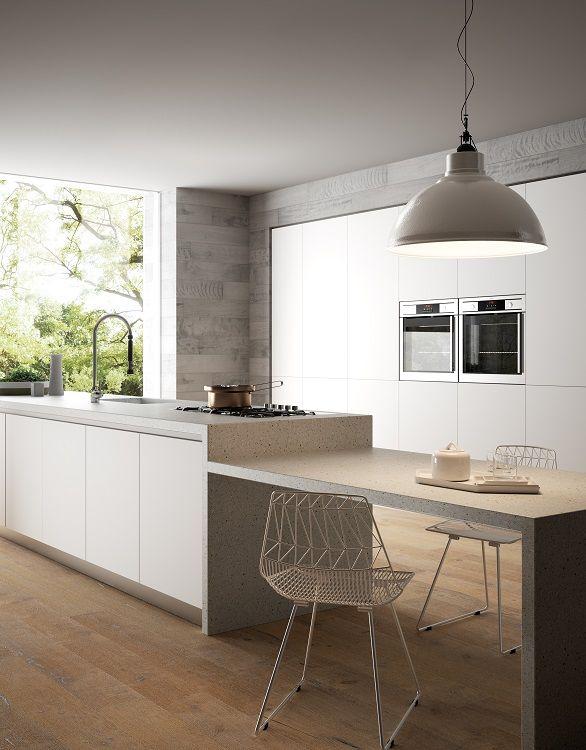 Persoonalliset ja helposti hoidettavat keittiötasot HI-MACS® komposiittikivestä. Saumattomuus tasossa näyttää tyylikkäältä. www.nordstock.fi #habitare2016 #design #sisustus #messut #helsinki #messukeskus