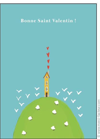 http://www.merci-facteur.com/carte-coeur.html #carte #StValentin #amour #love #Valentinsday #iloveyou #coeur #SanValentin #amor #Jetaime #Tequiero Carte Petite maison de la Saint Valentin pour envoyer par La Poste, sur Merci-Facteur !