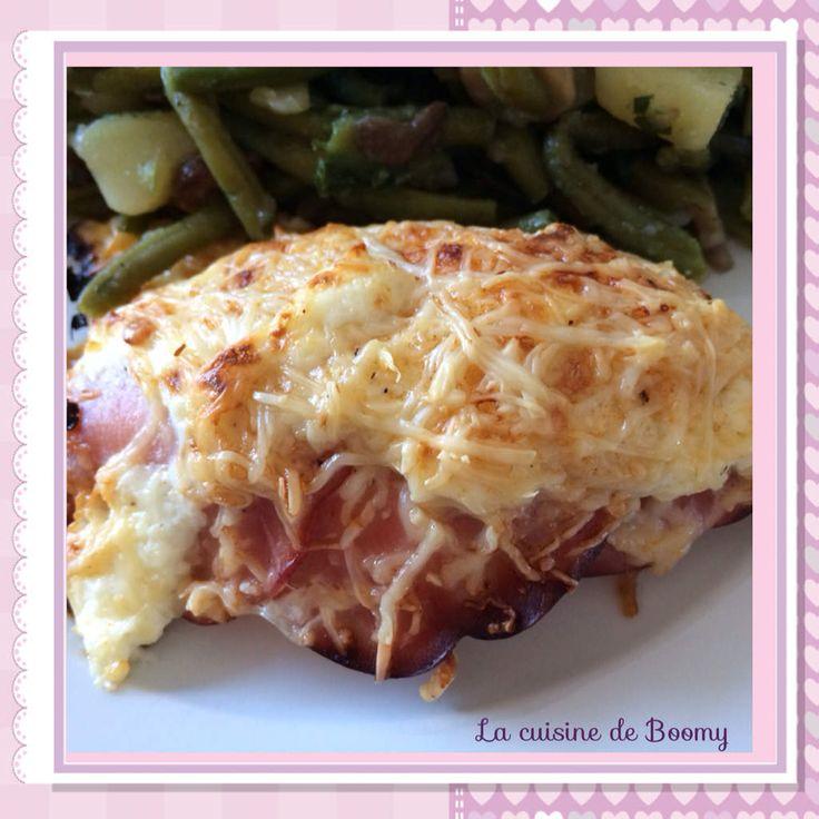 Papillotes de poulet au bacon WW - La cuisine de Boomy
