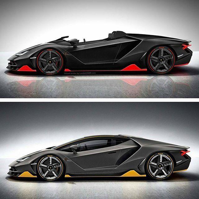 Centenario Coupe Or Roadster?