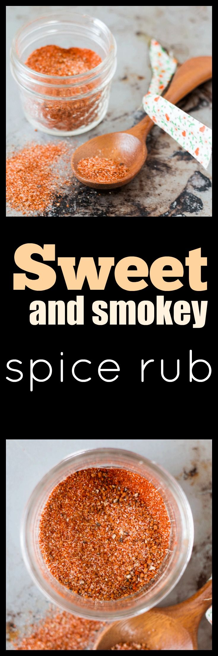 A gorgeous sweet and smokey spice rub for infusing flavor into meats and vegetables. Perfect for when that special dish needs a more a kick. via @wholefoodbellies