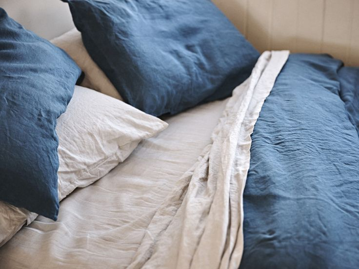 The Slowpoke: IN BED LINEN // #natural #bedding #homewares