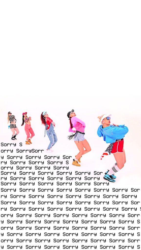 ✨ Wallpaper Lockscreen SORRY Justin Bieber