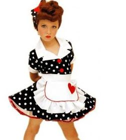 "Katie's Quilts and Crafts: ""I Love Lucy"" Toddler Costume"