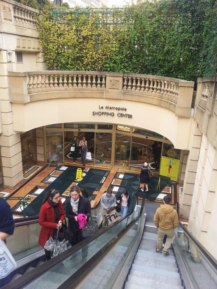Le Metropole Shopping Center (luxury mall) - Monte-Carlo, Monaco