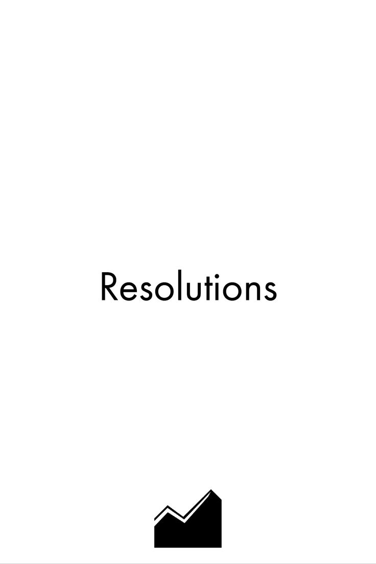 There's a problem with setting New Year's resolutions: We define goals we can't achieve. Why? Because we always try to achieve everything at once, instead of giving our best to become better on an on-going basis...