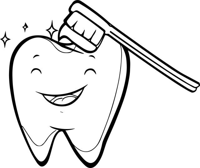 25 Inspiration Image Of Tooth Coloring Pages Teeth Images