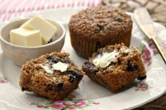 Blueberry bran muffins are light-textured and moist. Made withnatural wheat bran, the key to their lofty texture. Blueberries and molasses keep them moist.