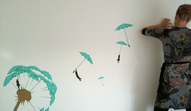Paint Free Apartment Decorating Ideas Easy Wall