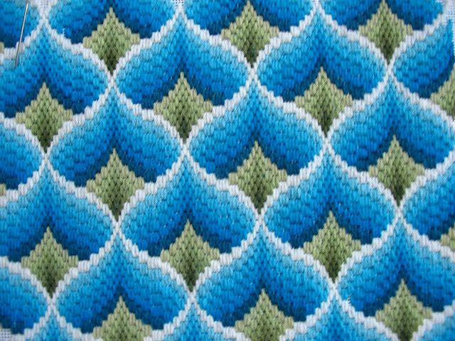 bargello done by elsy965, via Flickr