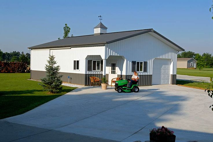 17 best images about pole barns on pinterest pole barn for Pole barn home kits indiana