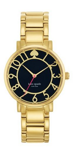 Kate Spade, whom which I have recently fallen in love with! I love all her designs! Especially the watches