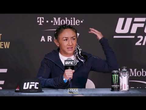 MMA UFC 219: Carla Esparza Post-Fight Press Conference - MMA Fighting
