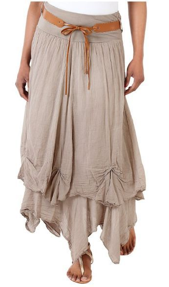Gypsy style skirt. Perfect for any season.                                                                                                                                                                                 More