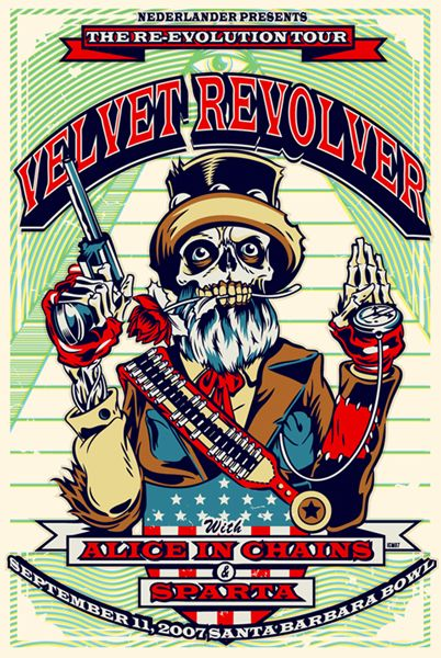 Velvet Revolver, Alice in Chains   (I saw them in Mansfield, Ma. on this tour)