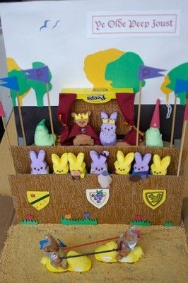 Peeps Scenes | Image detail for -Marshmallow Peeps Diorama made by Sarah Zielinski ...: