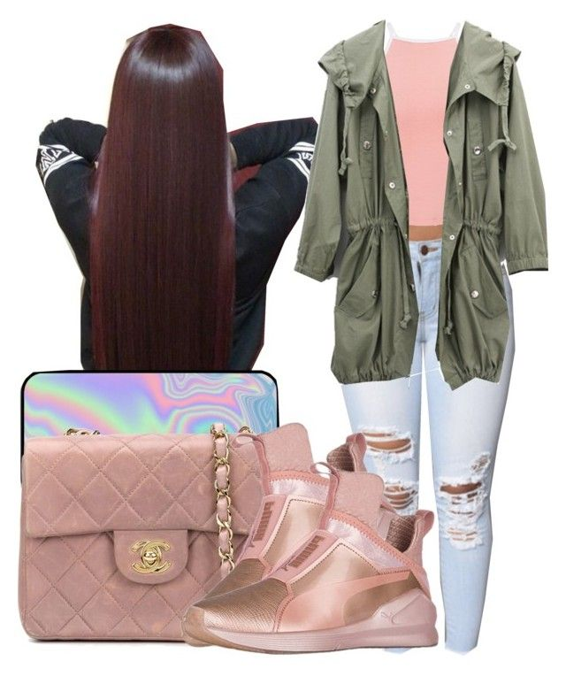 """""""Fair Next Weekend """" by shamyadanyel ❤ liked on Polyvore featuring Puma, Chanel, WithChic and Miss Selfridge"""