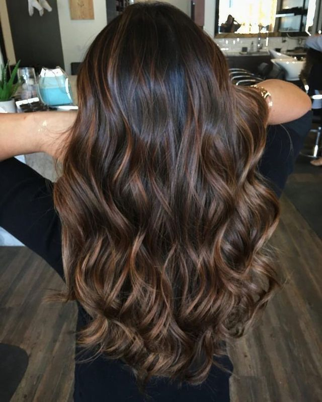 Gorgeous Chocolate Brown Hair Color
