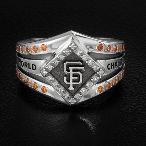 Logo Collection Ring in 10k White Gold $3,499