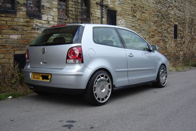 polo 9n with audi winter wheels